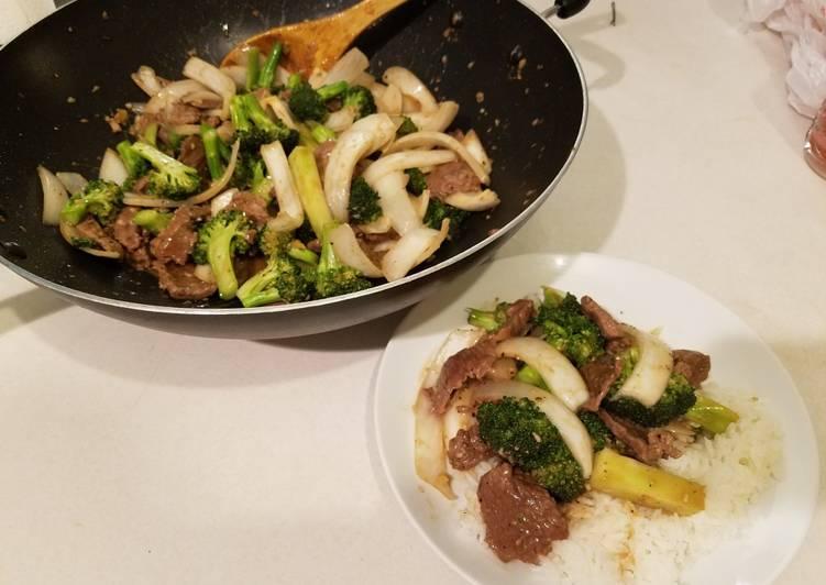 Steps to Make Award-winning Beef and Broccoli