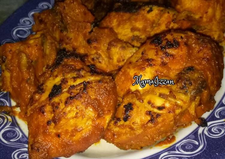 Ayam Bakar Padang ala MamaIzzan