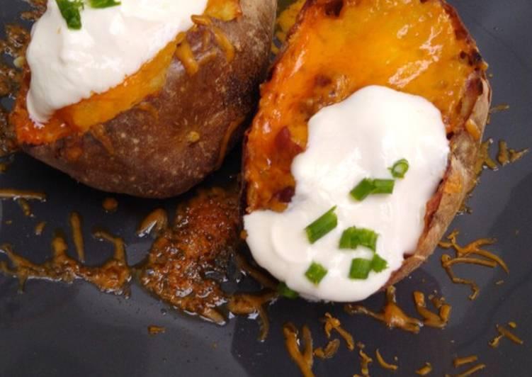 Recipe of Perfect Loaded Jacket Potatoes
