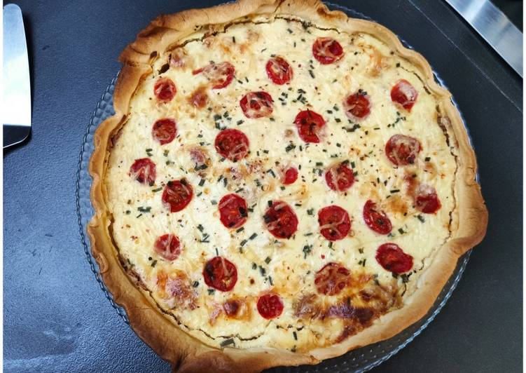 Quiche aux thons