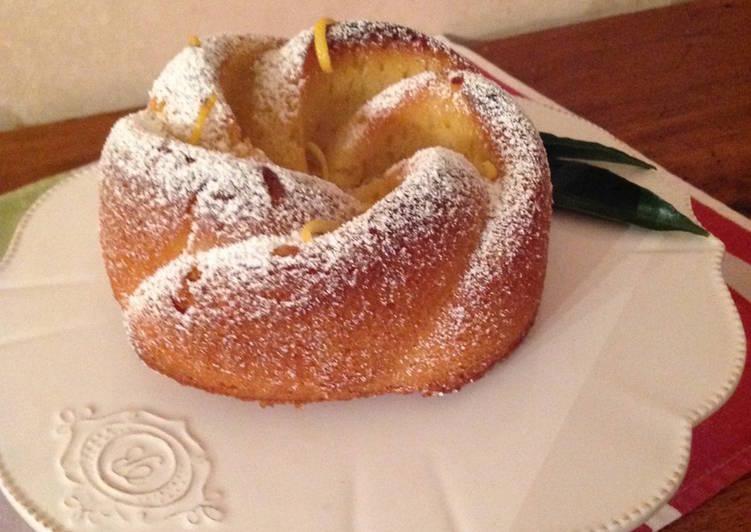 Recette Parfait Bundt cake au citron