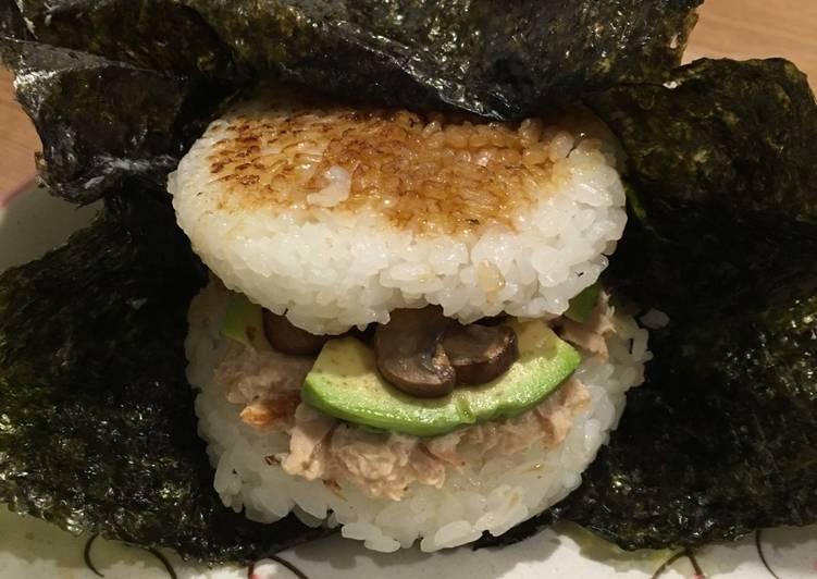 Tuna Avocado Burger