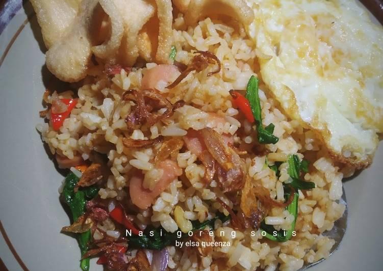 13 Bahan Buat Nasi Goreng Sosis Pedas Yang Mudah Cookandrecipe Com