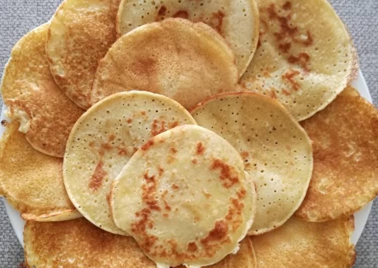 Minis pancakes à la bière sans lait ni gluten