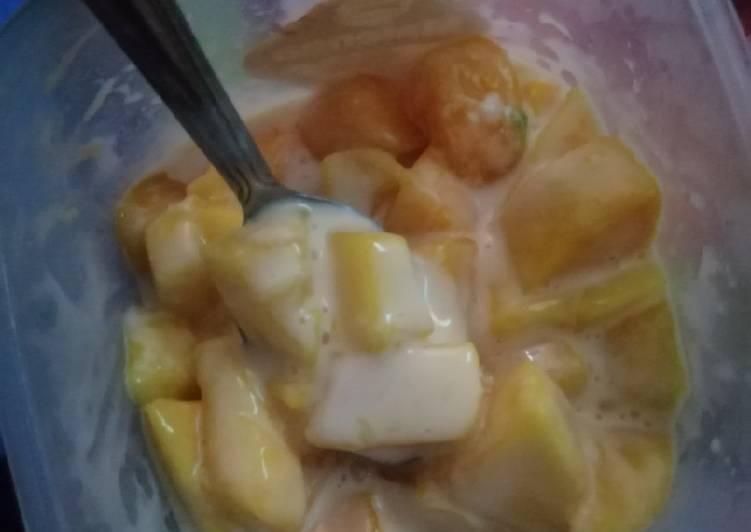 Salad buah mangga - cookandrecipe.com