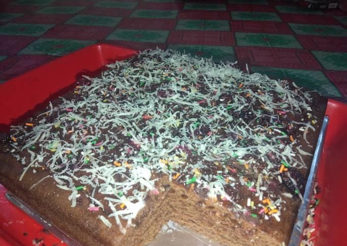 Bagaimana Menyiapkan Bolu kukus coklat gampang banget yang Bisa Manjain Lidah