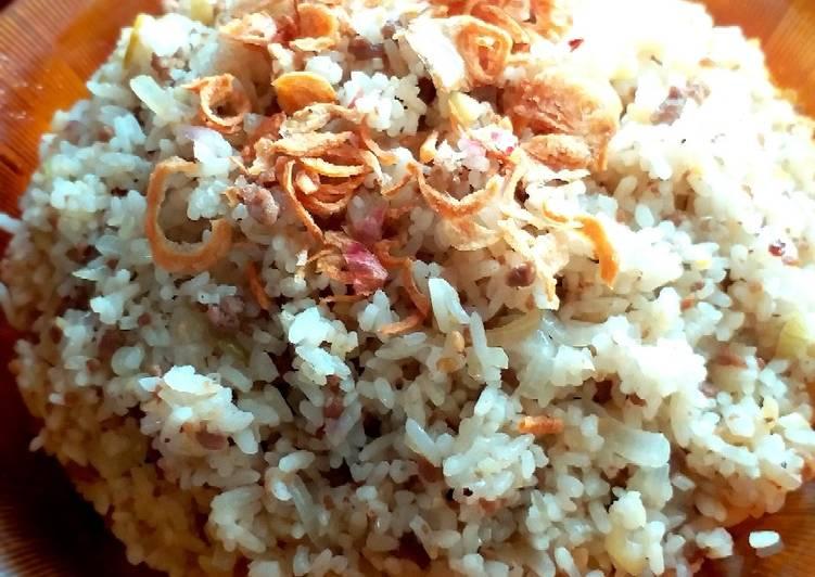 Nasi Goreng Daging Bumbu