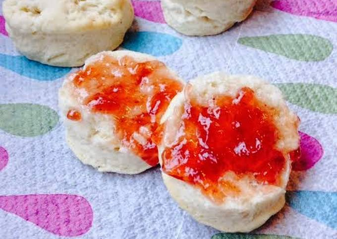 Easiest Way to Make Yummy Mini Coconut Biscuits ~ A 3 ingredient recipe