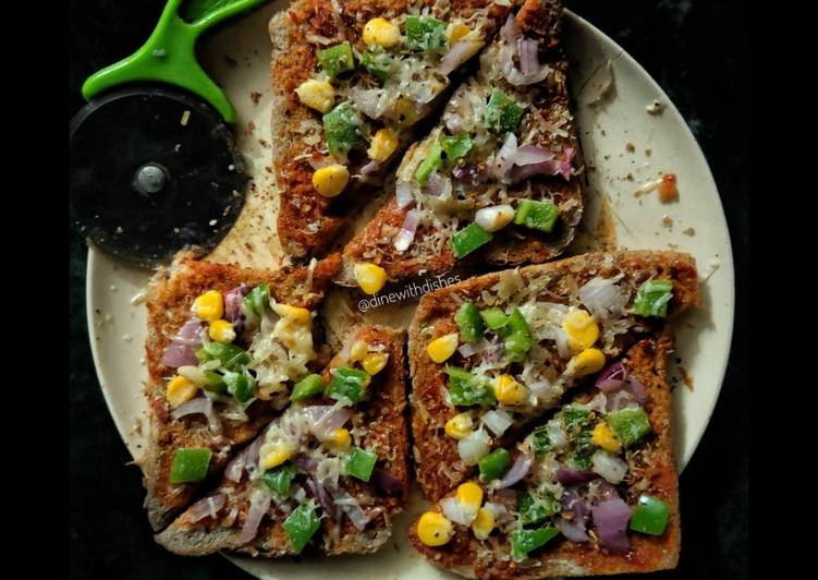Steps to Make Perfect (Brown Bread Pizza)