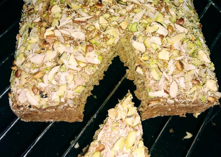 Steps to Prepare Ultimate Biscuit dry fruits cake