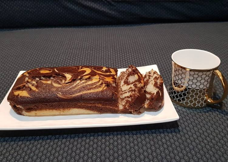 Easiest Way to Prepare Perfect Marble Cake