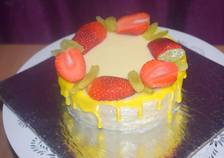 Easiest Way to Prepare Appetizing Fresh Cream Birthday Cake