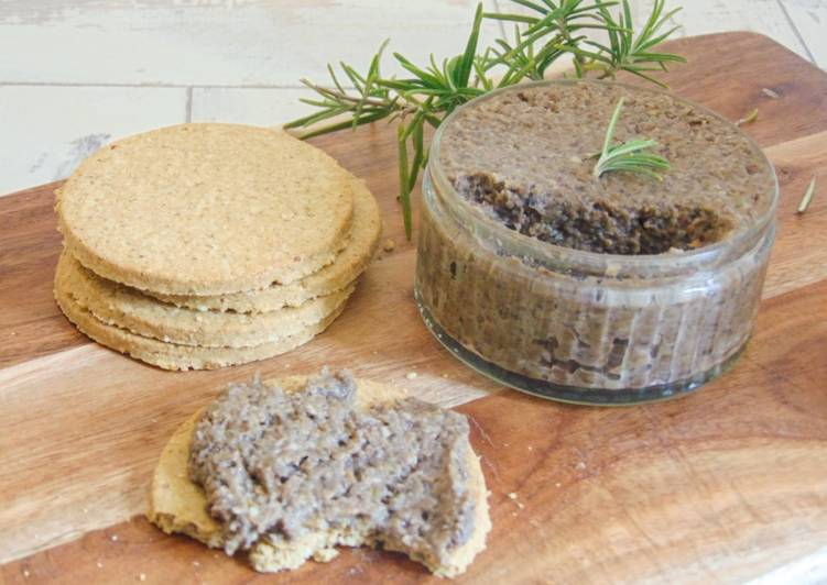 Recipe of Perfect Garlic Mushroom & Lentil Pate