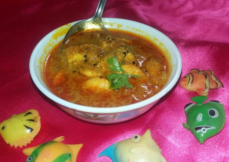 Prawns curry my style Choosing Wholesome Fast Food