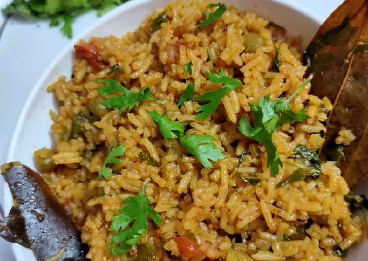 Foods That Can Make You Happy Veg pulao