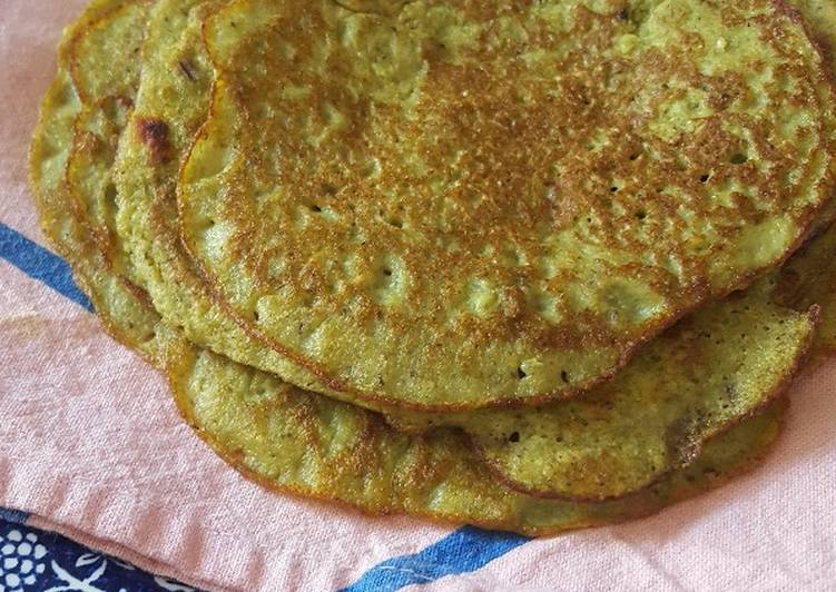 Steps to Make Speedy Sprouted Mung Beans Savoury Crepes