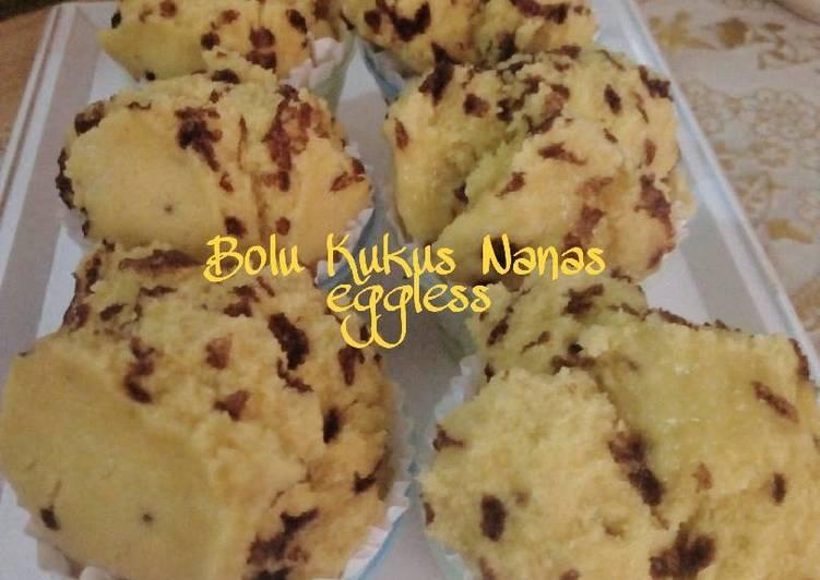 Bolu Kukus Nanas Eggless