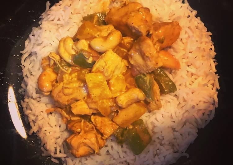 Les Meilleures Recettes de Poulet coco curry
