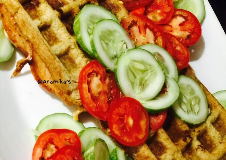 What is Dinner Ideas Cooking Chicken Salami Bread 🍞 Waffles