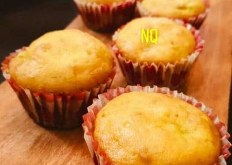 Simple Way to Prepare Homemade Banana Muffins