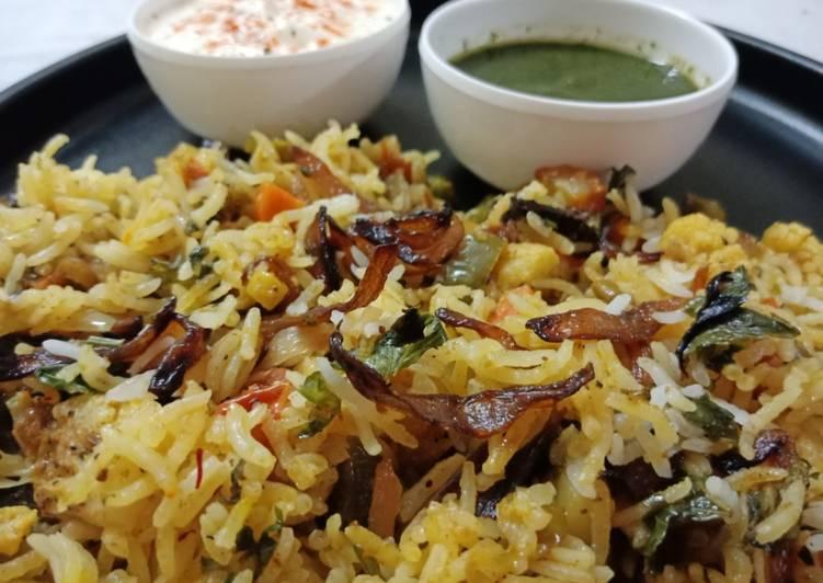 Step-by-Step Guide to Prepare Favorite Veg Dum Biriyani Recipe