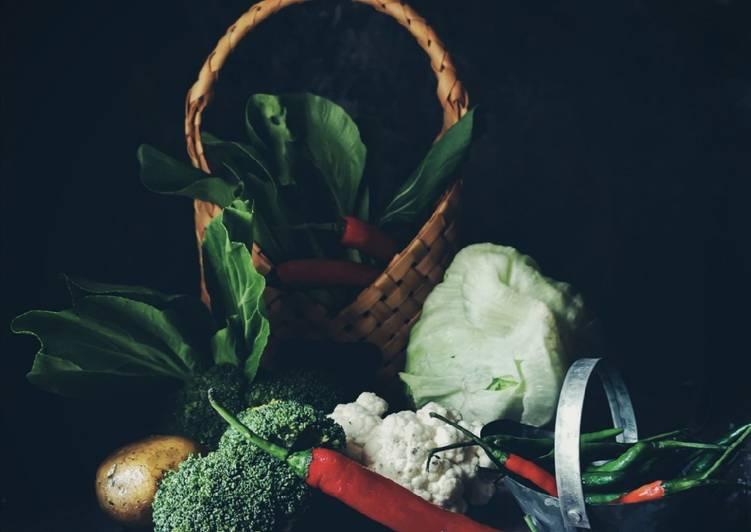 Buah-buah dan sayuran Bersih dan Tahan lama