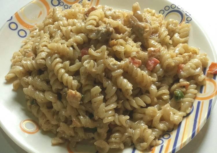 Simple Way to Prepare Perfect Chicken Pasta