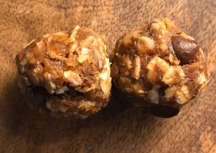 Pastor J's Gluten-Free Raw Energy Balls