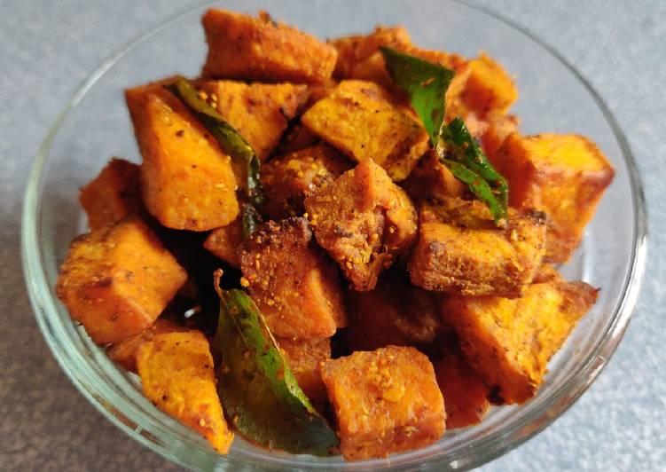 Recipe: Delicious Senai Kizhangu Varuval/ Yam Fry