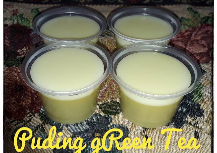 Puding gReen Tea Vla Vanilla