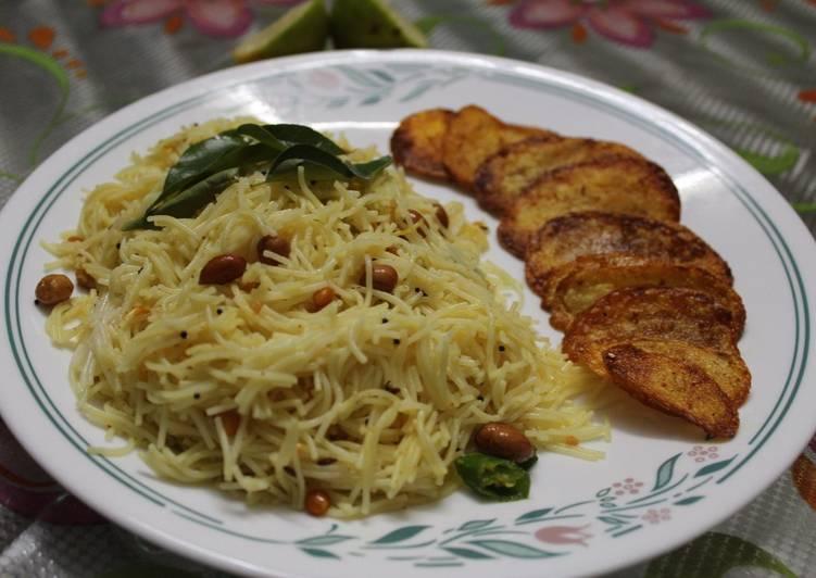 Old Fashioned Dinner Ideas Royal Lemon Semiya/Semiya Pulihore/Bombino Vermicelli Pulihore