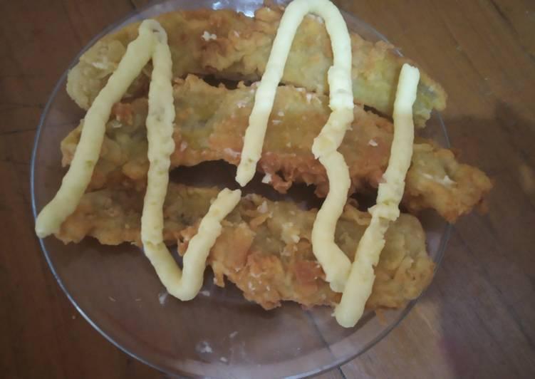 Rahasia Menghidangkan Pisang goreng crispy cream cheese Untuk Pemula!