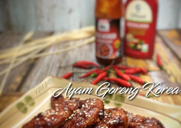 Ayam Goreng Korea Senang - velavinkabakery.com
