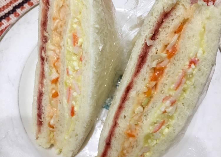 Recipe: Tasty Your oppa's sandwich