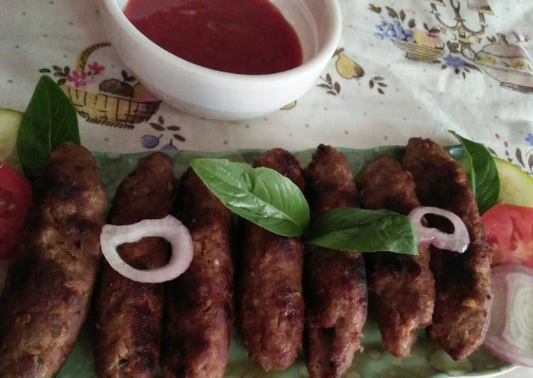 5 Minute Recipe of Any Night Of The Week Seakh kabab