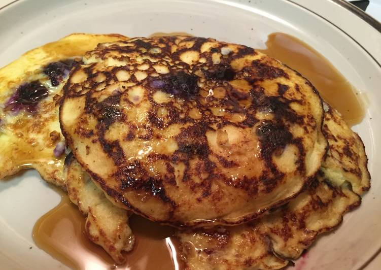 Recipe of Any-night-of-the-week Ricotta Pancakes