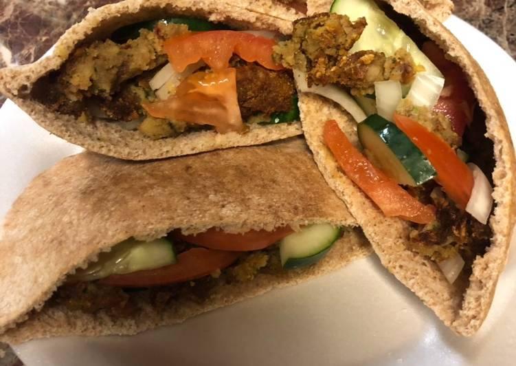 Recipe: Yummy Falafel sandwiches