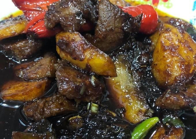 Resepi Daging Masak Manis