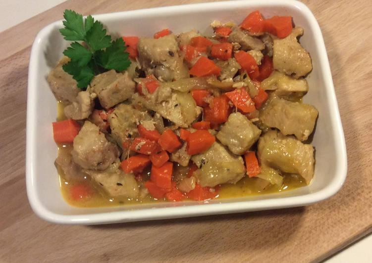 Comment Faire Des Sauté de Porc bio aux carottes et au Miel