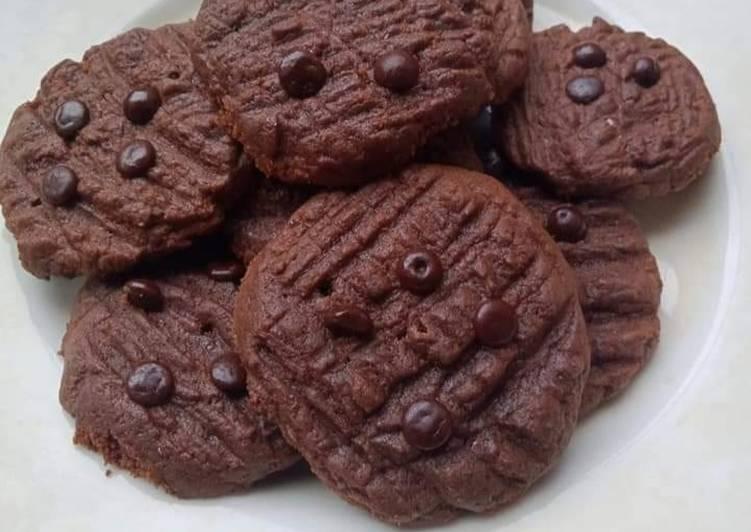 Chocochip Cookies Teflon Tanpa Oven