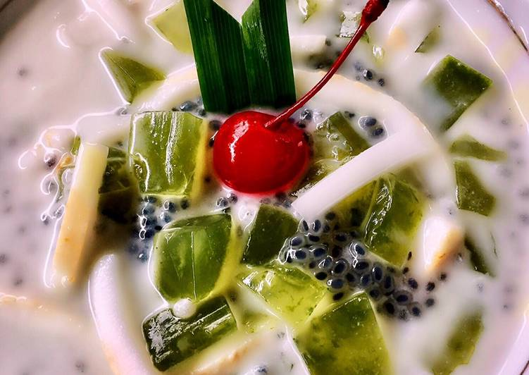 Resep Es Buko Pandan untuk jualan