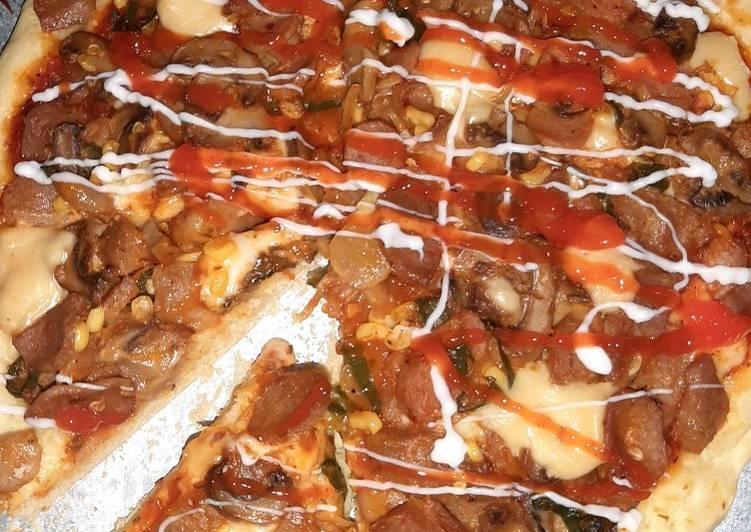 Pizza panggang (oven) untuk pemula anti gagal