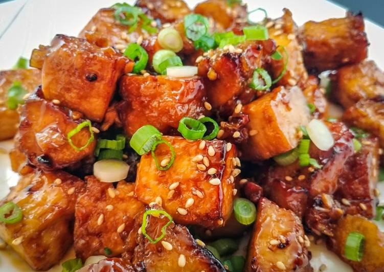 Honey Sesame Tofu