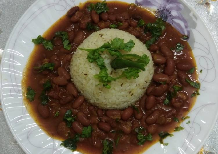 Rajma masala red kidney beans curry