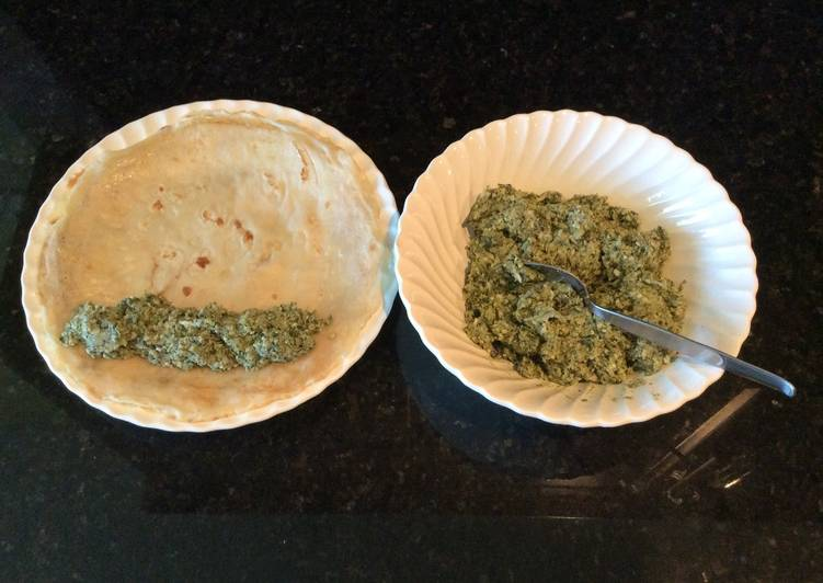 Recipe: Perfect Three Cheese and Spinach Filling
