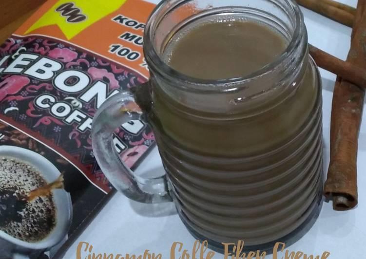 Cinnamon Coffe Fiber Creme