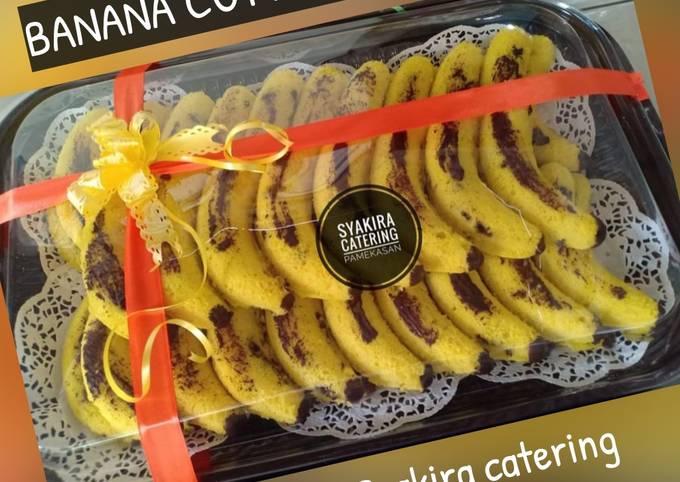 Banana cotton cake