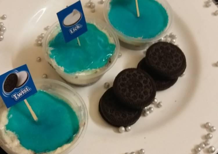 Oreo cheesecake shots