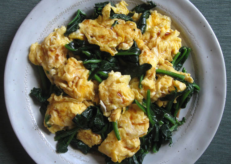 Just Spinach & Eggs