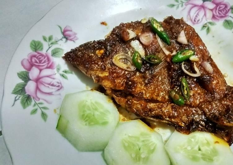 Resep Ikan Gurame Bakar teflon (simple) Yang Mudah Lezat